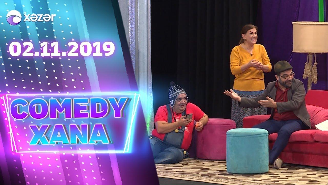 Comedyxana  3-cü  Bölüm  02.11.2019