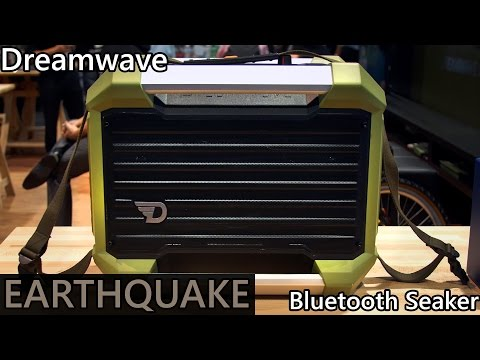 Dreamwave Earthquake - Outdoor Bluetooth Speaker - Great for Busking!