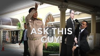 'Ask this guy!'
