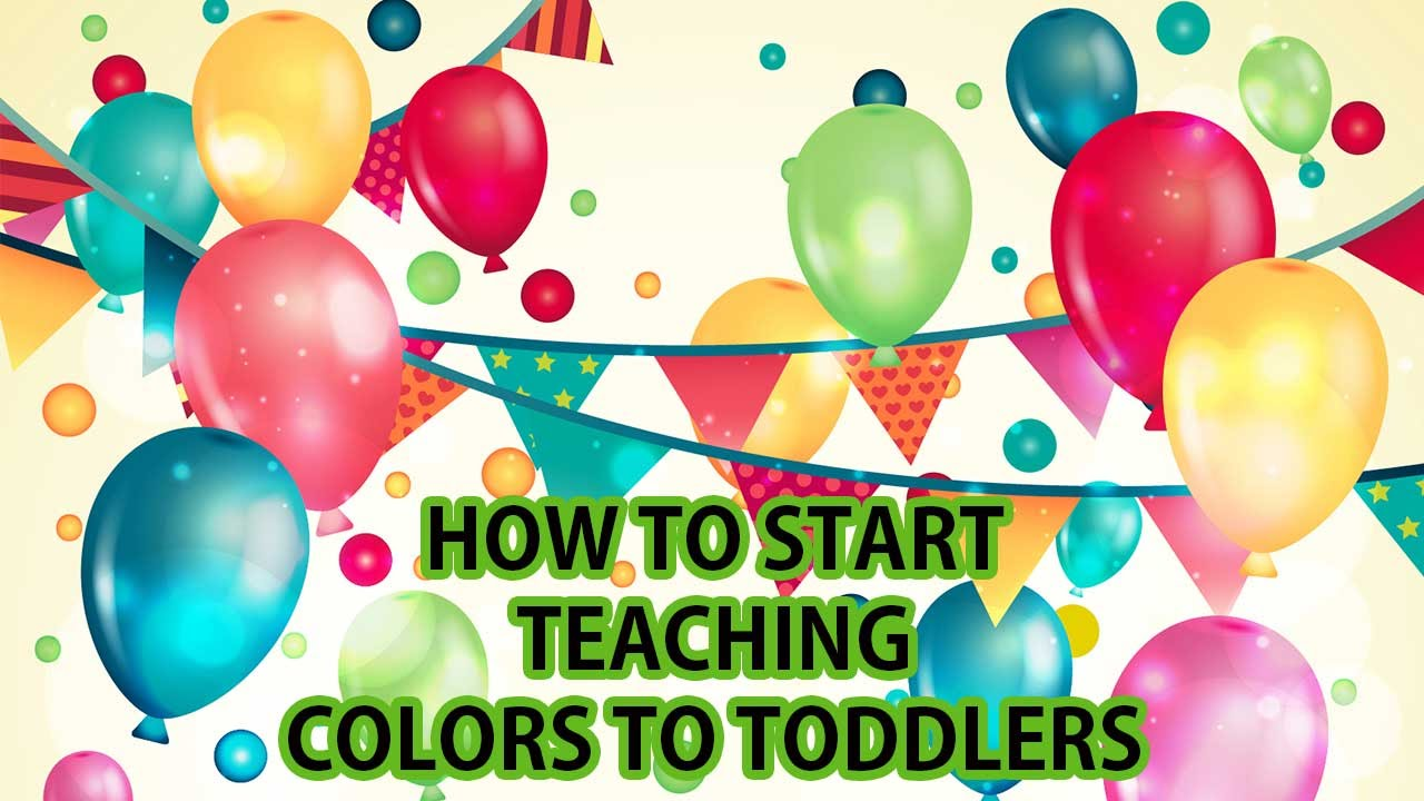 Learning Colors For Toddlers With Balloons Coloring Mom ! How to ...