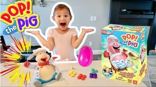 Pop The Pig Family Fun Games for Kids with Prizes