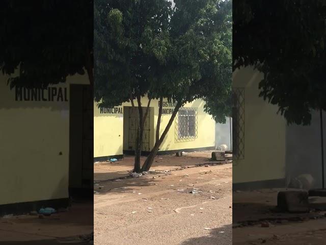 Sede de la Registraduría en San Zenon incendiada por presunto fraude electoral
