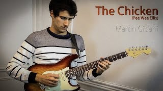 The Chicken on Guitar (impro) + free Backtrack