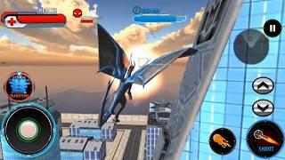 Wild Dinosaur Robot Vs Flying Dragon Dino Games