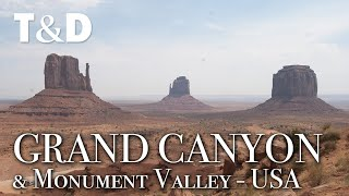 Grand Canyon And Monument Valley - Nature Video - Travel & Discover