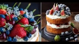 Голый торт, самые красивые свадебные голые торты