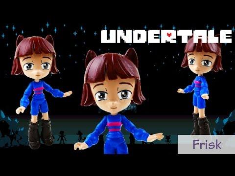 Undertale Frisk Toy Custom Action Figure...