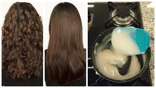 Homemade Hair Treatment for Frizzy, Dry and Damaged Hair