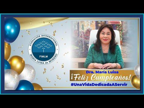 ¡FELIZ CUMPLEAÑOS DRA. MARÍA LUISA PIRAQUIVE!