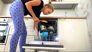 Уборка в кухне-ГОСТИНОЙ и ДЕТСКОЙ КОМНАТЕ!