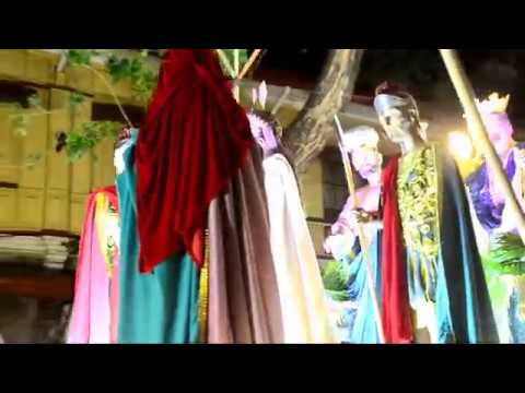 Holy Week 2018, The Grand Procession of Life Size Saints, The Longest in The Philippines