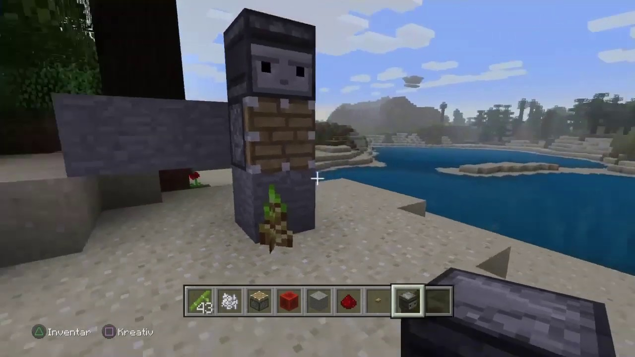 Minecraft Ps4 Bambus Infos Und Farm Youtube