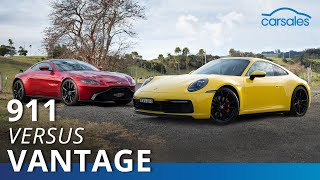 2019 Aston Martin Vantage v Porsche 911 Comparison Test | carsales