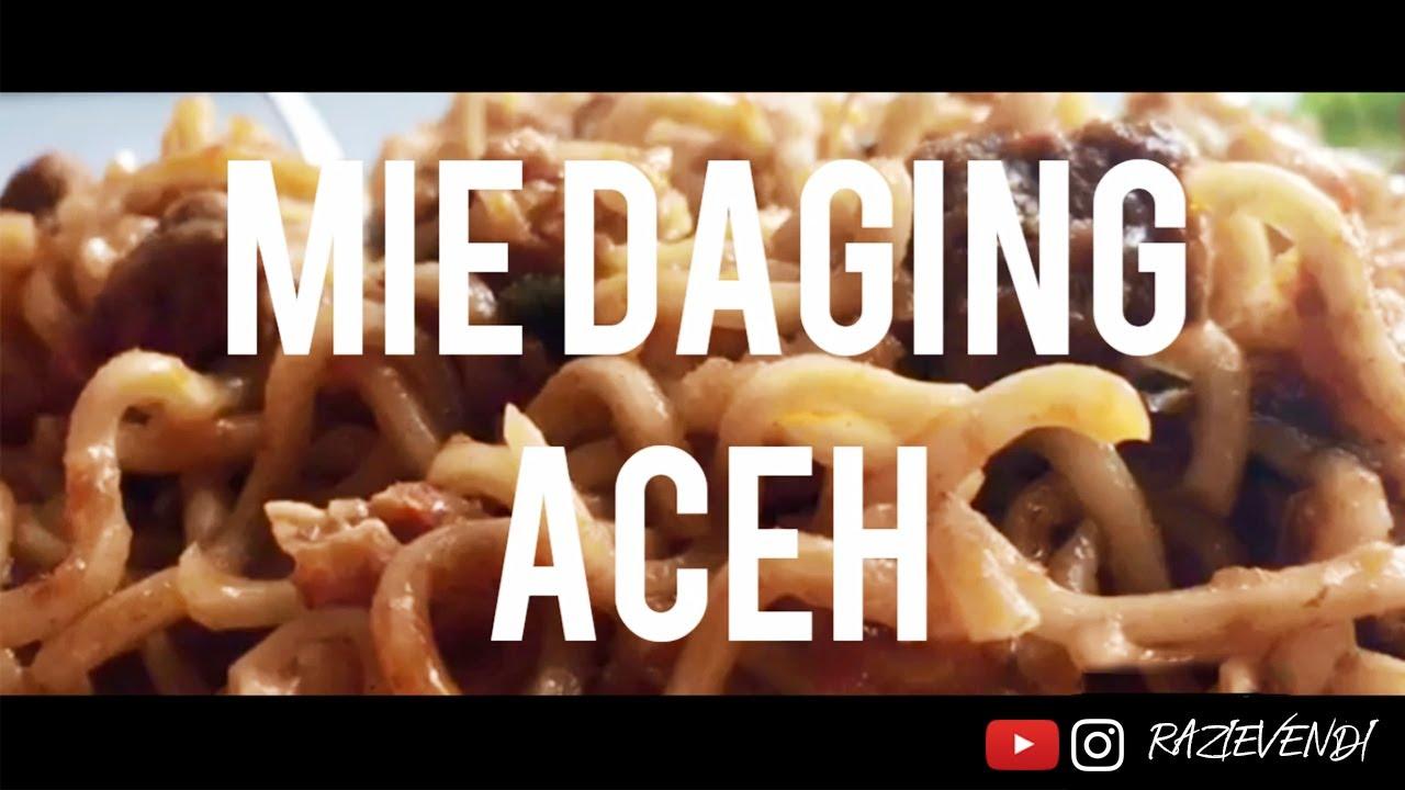 CARA MASAK MIE DAGING ACEH - YouTube
