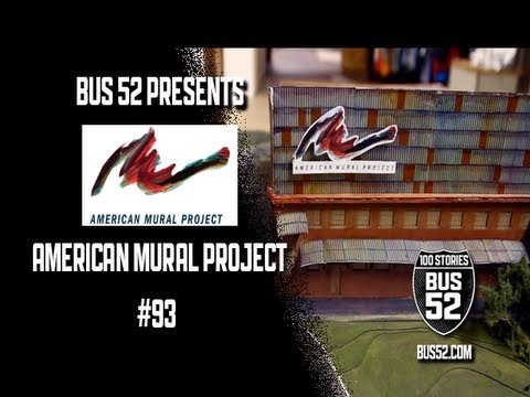 Bus 52 presents american mural project youtube for American mural project