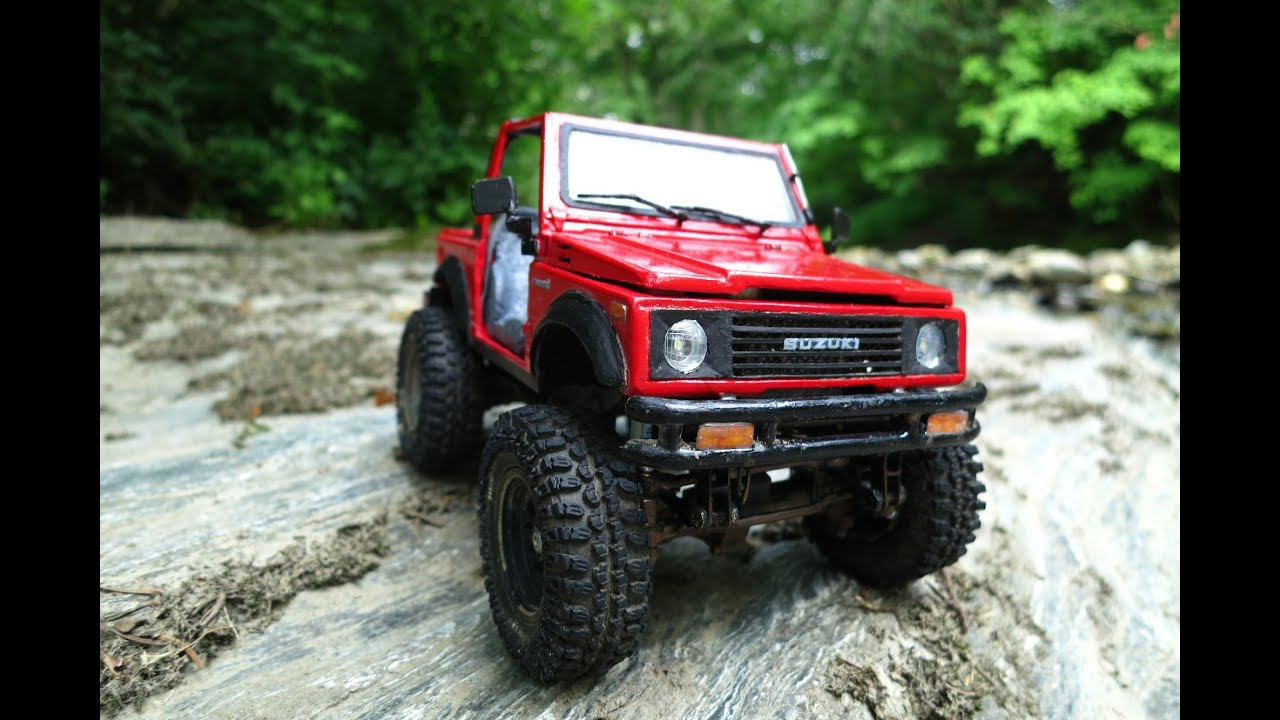 38 suzuki samurai rock crawling jimny youtube. Black Bedroom Furniture Sets. Home Design Ideas