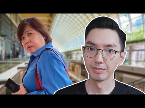 Singapore's Badge Lady Is Out Of Control