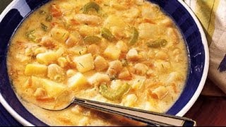 Plant Based Diet Recipes - Potato And Bean Soup