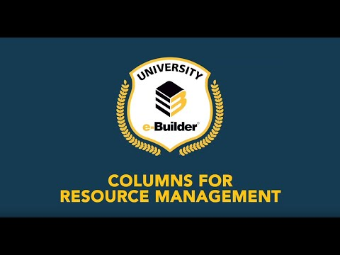 Training Videos On-Demand: Resource Management – Demo of New Columns