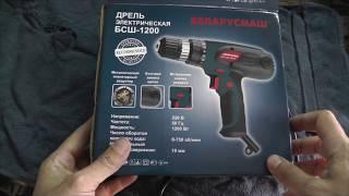 Шуруповерт Сетевой БСШ-1200 Обзор