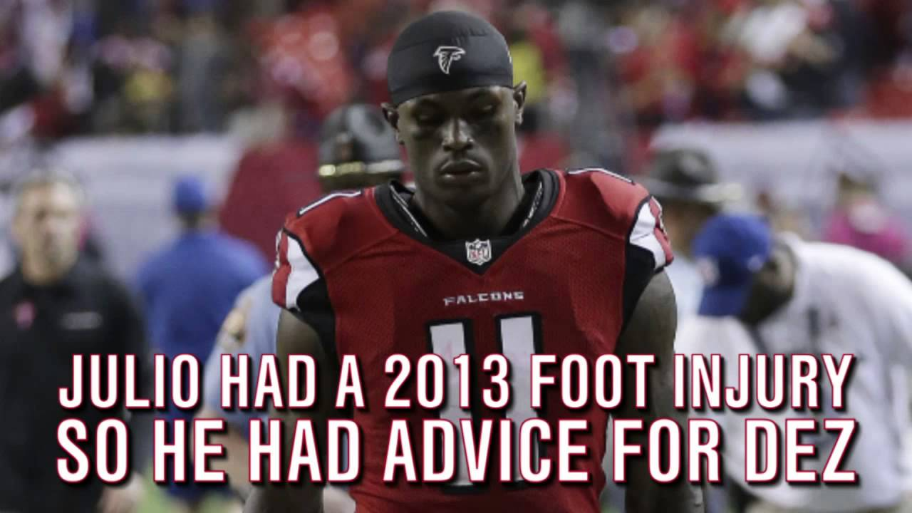 Falcons' Julio Jones Ruled Out With Hip Injury vs. Bills