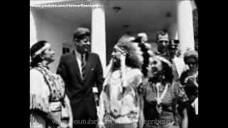 President John F. Kennedy spoke to the delegates from the American ...