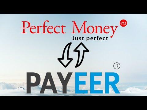 Как обменять Payeer на Perfect Money и обратно |  Эффективные способы обмена Perfect Money на Payeer