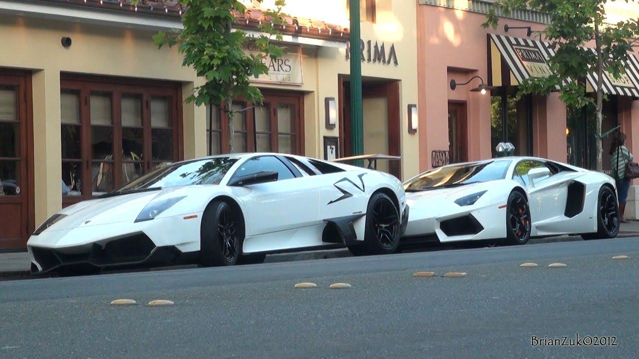 Lamborghini Murcielago Lp670 4 Sv And Lamborghini Aventador Lp700 4