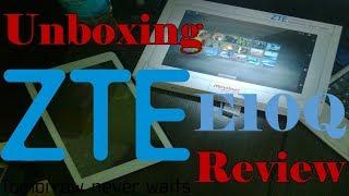 Unboxing + Review Tablet ZTE E10Q
