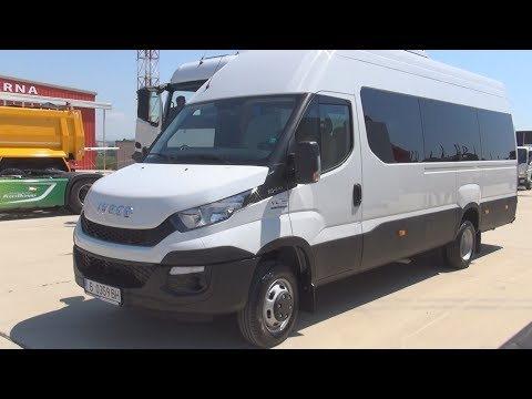 Iveco Daily 50-170 Bus (2017) Exterior and Interior in 3D