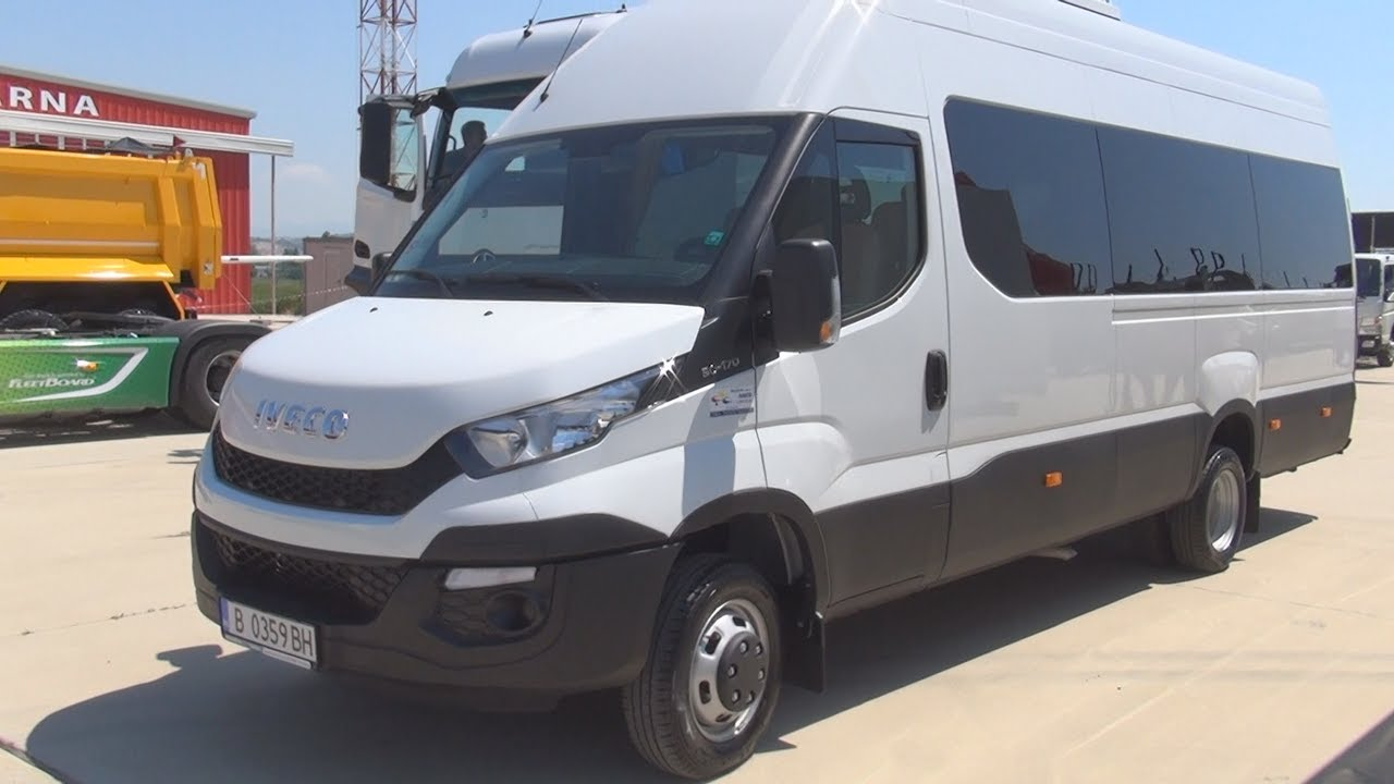 W Ultra Iveco Daily 50-170 Bus (2017) Exterior and Interior in 3D - YouTube EL93