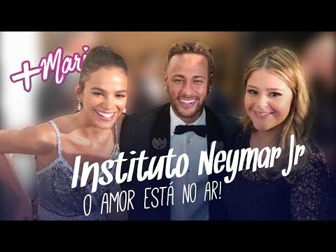 Instituto Neymar Jr: O amor está no ar