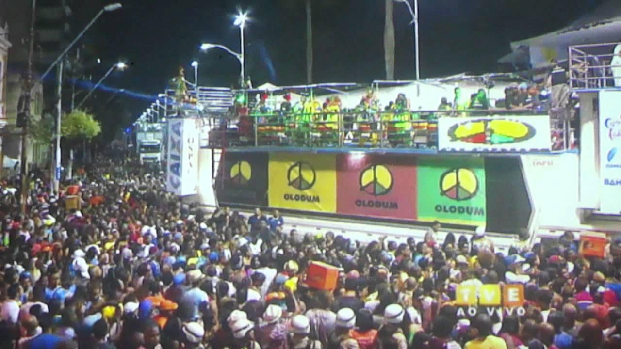 Circuito Osmar : Olodum circuito osmar carnaval salvador u de youtube