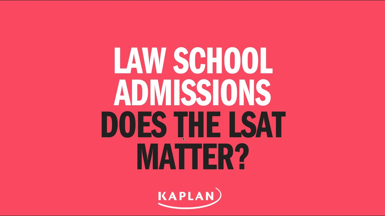 Law school admissions does the lsat even matter lsat youtube law school admissions does the lsat even matter lsat malvernweather Image collections