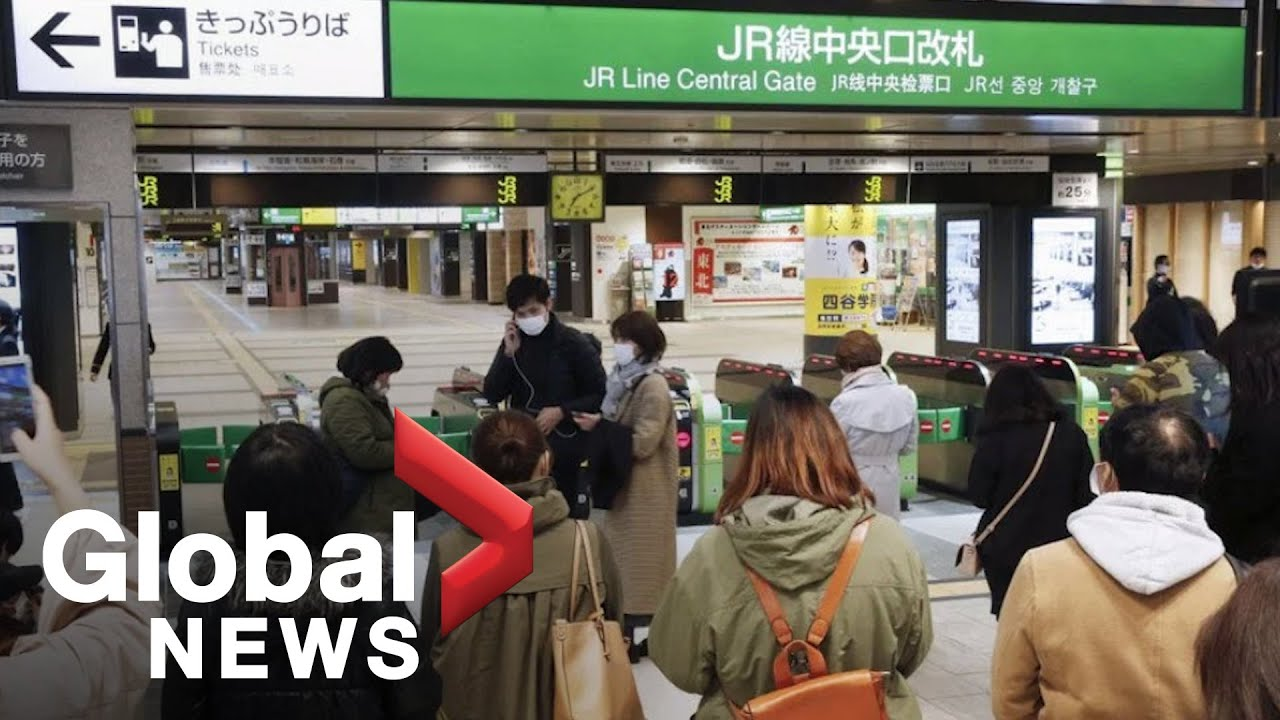 Tsunami advisory issued after earthquake strikes off Japan's coast