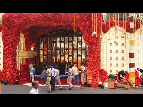 Inside Video: Grand Decoration At Ambani's House Antilla For Isha Ambani - Anand Parimal's Wedding