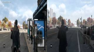 Watch Dogs - TheWorse vs Kadzait24 (Day) Side by side comparison