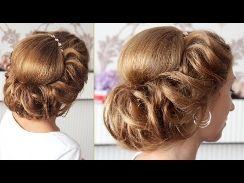 Съёмки урока, Тема: Греческая причёска с повязкой - Hairstyles by REM