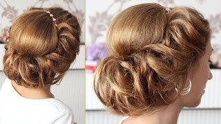 Причёска в греческом стиле | Запись урока | Лена Роговая | Hairstyles by REM | Copyright ©