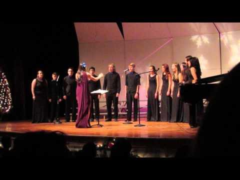 Cocoa and Carols 2015 Jazz Choir S'vion