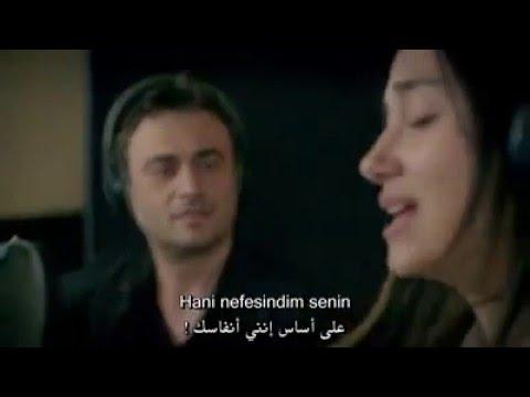 اغنية ميرال وقدسي في الحلقة 42 من مسلسل ( الأزهار الحزينة ) - مترجمة Kutsi & Meral  - Söz Konusu Aşk