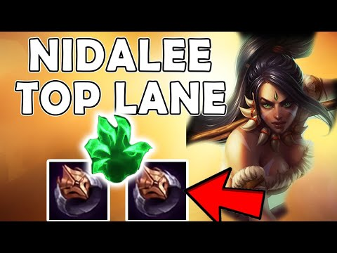 NIDALEE TOP! NEW BUILD, DOUBLE DARK SEAL! - League of Legends thumbnail