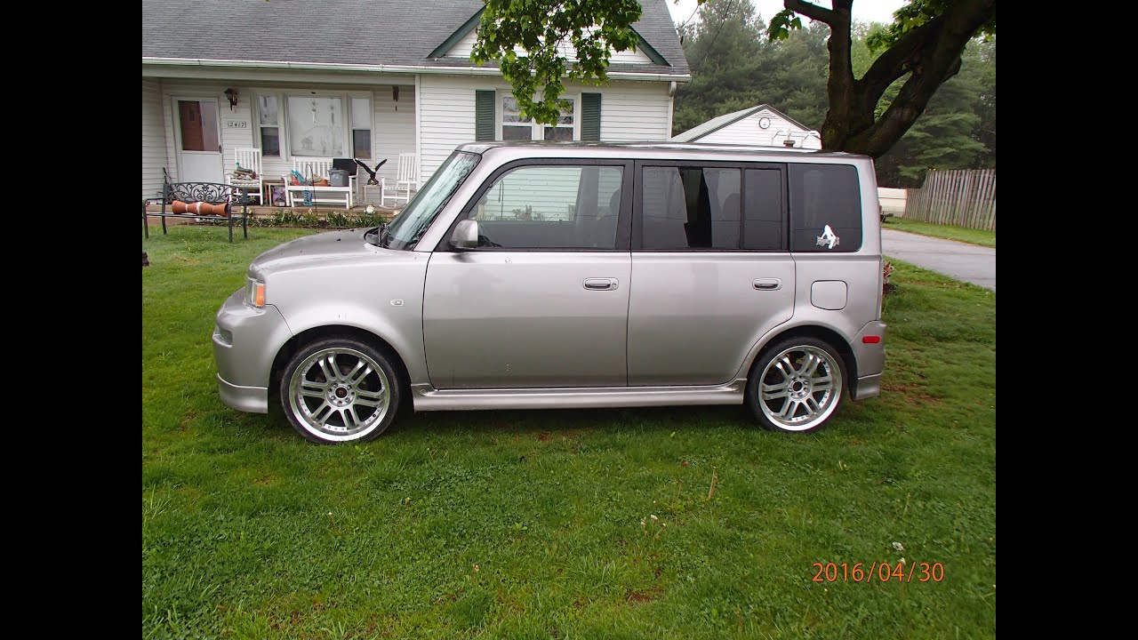 used 18 rims on my scion xb they fix good youtube. Black Bedroom Furniture Sets. Home Design Ideas