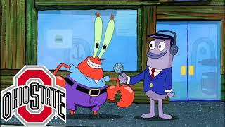 The Big 10 Portrayed by SpongeBob
