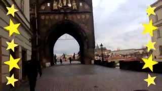 Karlov Bridge in Prague, Czech Republic  Достопримечательности Праги(Карлов мост Чехия Красивая страна Достопримечательности города Прага самый красивый город в Европе., 2013-02-04T20:04:10.000Z)