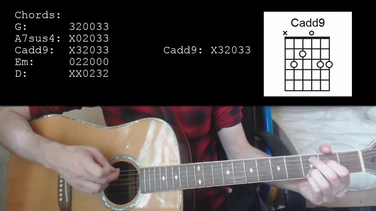 Goo Goo Dolls Iris Easy Guitar Tutorial Youtube