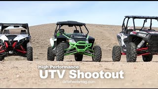 RZR XP 1000 vs Maverick vs Wildcat Comparison
