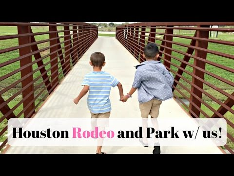 VLOG - Houston Rodeo And Park | LuxMommy