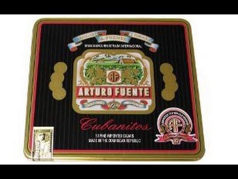 """Cigarillo Review : Arturo Fuente """"Cubanitos"""""""