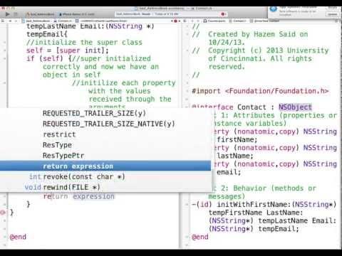IT1045C Module5 AddressBook 2/7